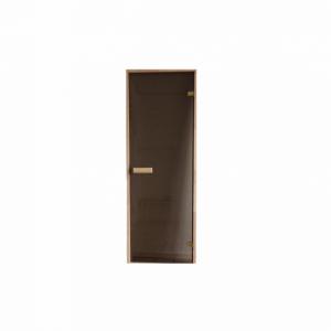 Bastudörr - Basic, Furu/Rökfärgad, 7x19